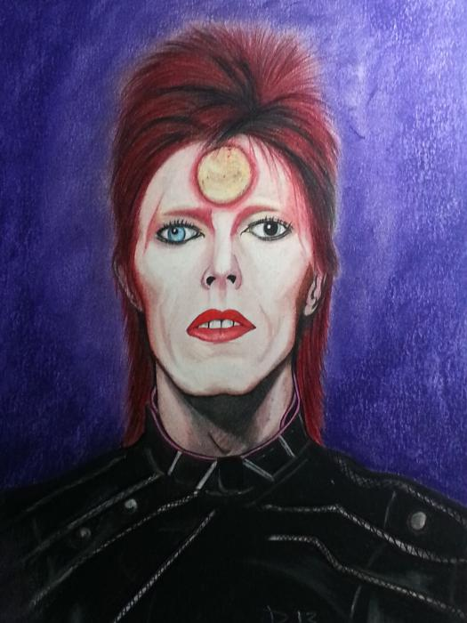 David Bowie by Callahan